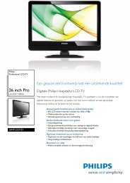 26HFL3331D/10 Philips Professional LCD-TV