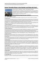 Island: Genießer-Reise in den Norden und Osten der ... - Intakt-Reisen