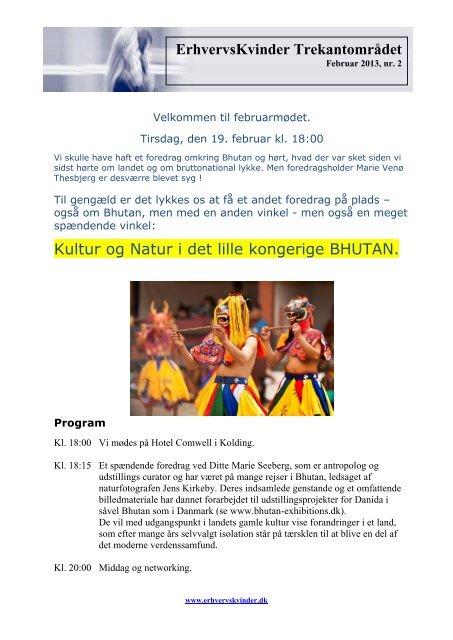 ErhvervsKvinder Trekantområdet Kultur og Natur i det lille kongerige ...