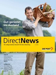 Direct News - Die Schweizerische Post
