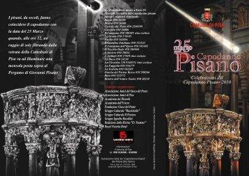 Capodanno Pisano 2010 - Eventi e Sagre