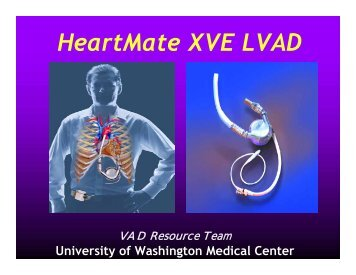 HeartMate XVE LVAD - Snohomish County Fire District 7