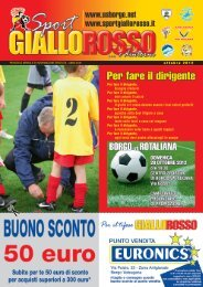 Ottobre - Sport GialloRosso