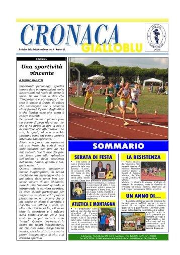 Cronaca Gialloblu Numero 12 (9,02 MB) - Atletica Castelleone