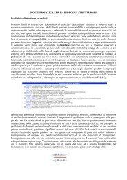 BIOINFORMATICA PER LA BIOLOGIA STRUTTURALE Predizione ...