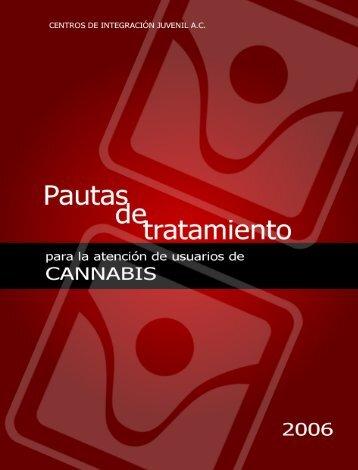 pautas de tratamiento para la atención de usuarios de cannabis