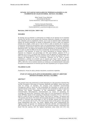 ESTUDIO DE PLANTAS VASCULARES EN TERRENOS ...