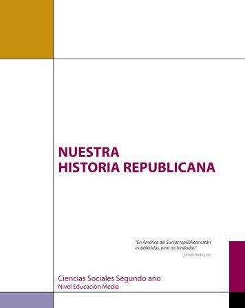 Historia Republicana - Ministerio del Poder Popular para la Educación