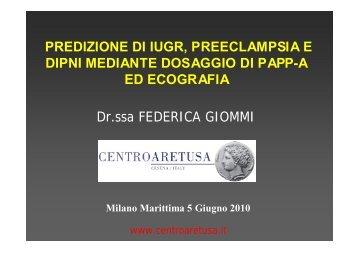 PREDIZIONE DI IUGR, PREECLAMPSIA E DIPNI MEDIANTE ...