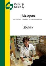 IBD-opas Lääkehoito - Crohn ja Colitis ry.
