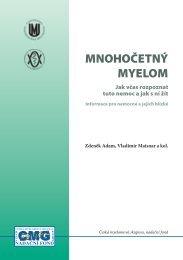Mnohočetný MyeloM - Nadační fond Česká myelomová skupina