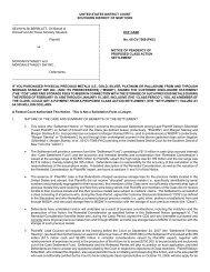 ECF CASE No. 05-CV-7569 (PKC) - GCG