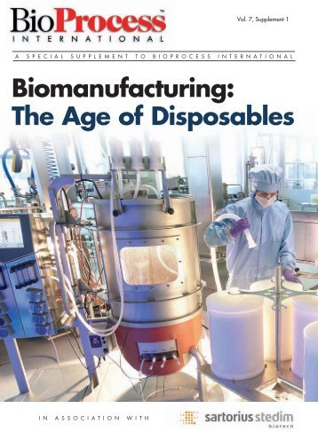 of Disposables - Chemical & Biomolecular Engineering