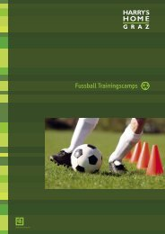 Fussball Trainingscamps - Harry's Home Hotels