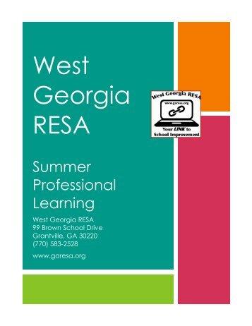 West Georgia RESA - Ciclt.net