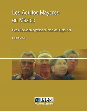 Los Adultos Mayores en México. Perfilsociodemográfico al ... - Inegi