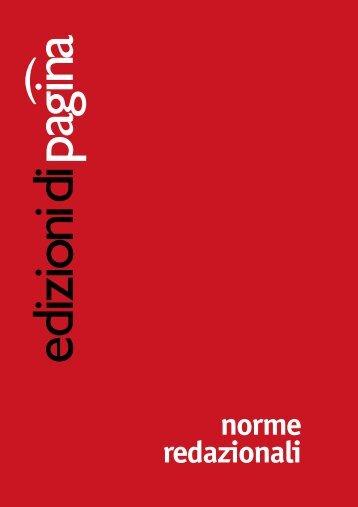norme redazionali - Paginasc.it