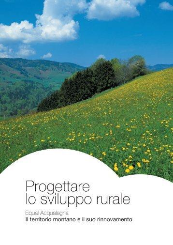 Progettare lo sviluppo rurale - Equalacqualagna