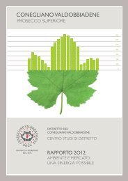 Rapporto 2012 PDF 7.1 MB - Consorzio per la tutela del Prosecco Doc