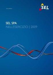 SEL SPA nell'esercizio   2009 - SEL AG