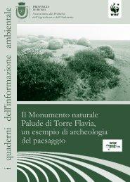 il monumento naturale palude di torre flavia, un ... - WWF Italia