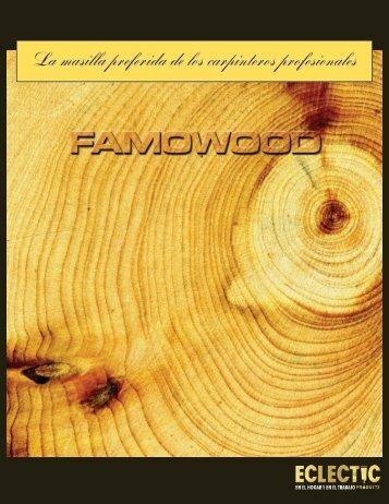 Disolvente FAMOWOOD de resanador para madera