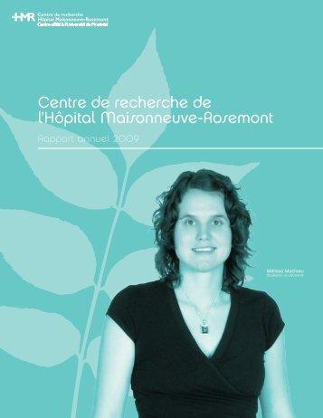 Centre de recherche de l'Hôpital Maisonneuve-Rosemont
