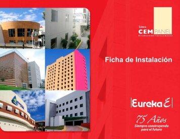 Ficha de Instalacion de Cempanel - Láminas y Complementos SA ...