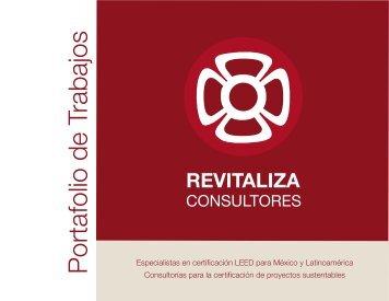 Portafolio de Trabajos - Revitaliza Consultores
