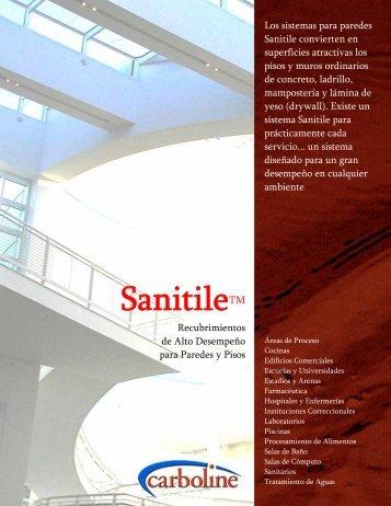 Sanitile - Pisos y Muros - SATP