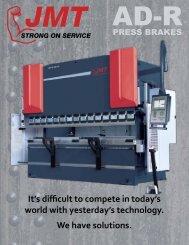 JMT AD-R Press Brake Catalog - Jorgenson Machine Tools