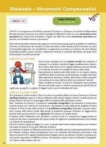 Dislessia - Strumenti Compensativi - softime - informatica