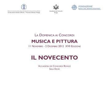 """Scarica catalogo evento - Conservatorio di Musica """"Francesco ..."""