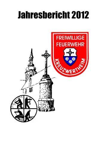 Jahresbericht 2012 - bei der Feuerwehr Kreuzwertheim