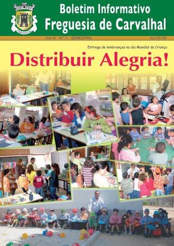 Distribuir Alegria! - Carvalhal
