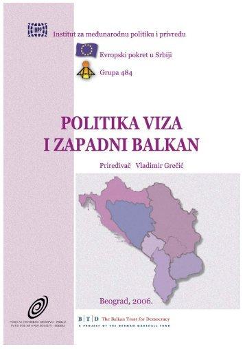 Politika viza i Zapadni Balkan 2006.pdf - Grupa 484