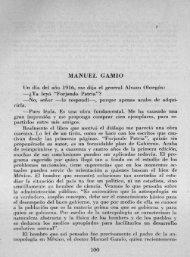 MANUEL GAMIO - Bicentenario