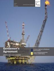 Gentlemen's Agreement 1 - Politea Think Tank