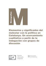 CEO. Elementos y significados del malestar con la política en ...