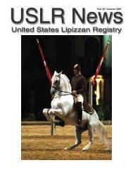 Year 26 / Autumn 2005 - United States Lipizzan Federation