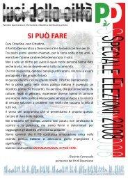 LC n.speciale elezioni 2008 - Circolo del Partito Democratico di ...