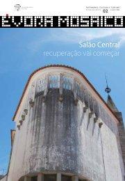 Salão Central recuperação vai começar - Câmara Municipal de Évora