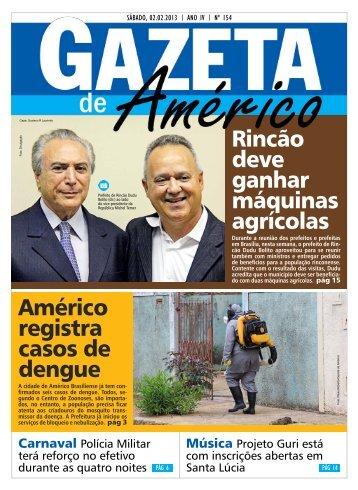 cidade - Gazeta de Américo