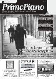 Primo Piano di aprile 2007 - Circolo di Correggio