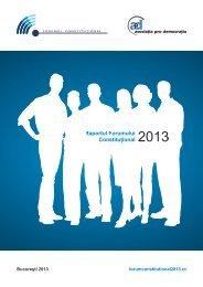 5. Evenimentele Forumului Constituțional 2013 - Forum Constitutional