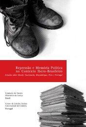 Repressão e Memória Política no Contexto Ibero-Brasileiro