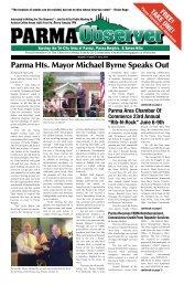 Parma Hts. Mayor Michael Byrne Speaks Out