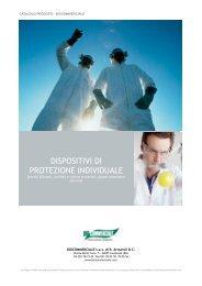 DISPOSITIVI DI PROTEZIONE INDIVIDUALE - Biocommerciale S.a.s.