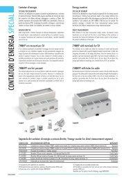CONTATORI D'ENERGIA SPECIAL - Italtronic.com