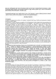 Richiesta Chiarimenti Gara Servizi pulizie scuole II tranche - Consip